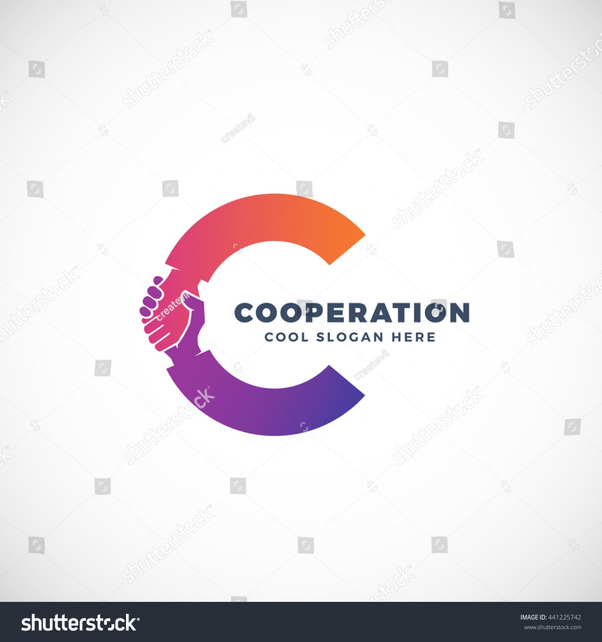 stock-vector-cooperation-abstract-vector-sign-symbol-or-logo-template-hand-shake-incorporated-in-letter-c-441225742.jpg